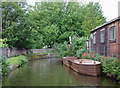 SJ8746 : Caldon Canal near Shelton, Stoke-on-Trent by Roger  Kidd
