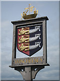 TQ9017 : Winchelsea sign by Oast House Archive