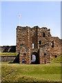 NZ3769 : Tynemouth Castle by David Dixon