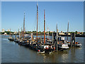 TQ3480 : Hermitage Mooring, Wapping by Roger Jones