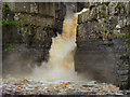 NY8828 : High Force Waterfall, River Tees by David Dixon