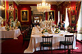 SK2670 : Dining Room, Chatsworth House, Derbyshire by Christine Matthews