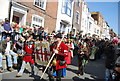 TQ8209 : Jack in the Green Festival 2011 - The Order of Rye Longbowmen by N Chadwick