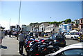 TQ8209 : Motorbikes on the seafront by Nigel Chadwick