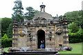 SK2670 : Building at Top of Cascade, Chatsworth House, Derbyshire by Christine Matthews