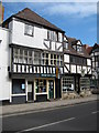 SO8932 : Timber buildings in Tewkesbury by Philip Halling