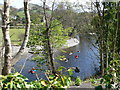 SJ2042 : Kayaking on the river Dee near Llangollen by Eirian Evans