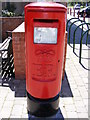 TL2863 : Papworth Everard Post Office Postbox by Adrian Cable
