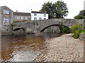 NY7708 : River Eden, Frank's Bridge by David Dixon