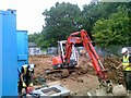 TQ3991 : Building site, Armstrong Avenue, Walthamstow by Alex McGregor