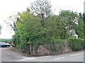 SJ4453 : A rather overgrown entrance for Stretton Lower Hall by Eirian Evans