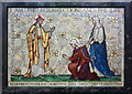 TQ2385 : St Gabriel, Walm Lane, Cricklewood - Mosaic by John Salmon
