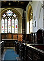 TL1344 : Interior of St. Andrew's, Old Warden, Bedfordshire by nick macneill