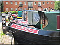 SP7287 : Narrowboats at Market Harborough Wharf by Oast House Archive