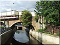TQ3875 : Ravensbourne River at Lewisham by Malc McDonald