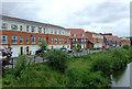 SJ9050 : New housing near Milton, Stoke-on-Trent by Roger  Kidd