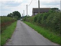 SP9520 : Chapel Lane by Oast House Archive
