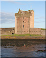 NO4630 : Broughty Castle by Anne Burgess