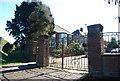 TQ5940 : Park Gates, Hilbert Rd by N Chadwick