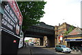 TQ2672 : Railway Bridge, Garratt Lane by Nigel Chadwick