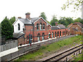 TQ5337 : Former station buildings at Groombridge  by Stephen Craven