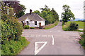 NX9883 : Crossroads near Riddingwood House by Steven Brown