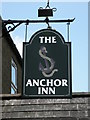 TL4192 : Sign of The Anchor Inn by Keith Edkins