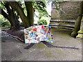 SJ9593 : Alder School display for Gee Cross Well Dressing 2011 by Gerald England