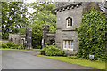 NY3700 : Entrance and gatehouse Wray Castle by Tom Richardson