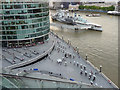 TQ3380 : South Bank and HMS Belfast by Christine Matthews