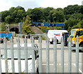 ST3189 : Network Rail depot yard, Crindau, Newport by John Grayson
