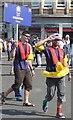 NS2876 : Kapitan 'Safety First' of the good ship Endorfina by Andy Farrington