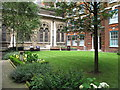 TQ3281 : St. Michael's Cornhill Garden by Roger Jones