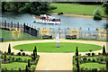 TQ1568 : River Thames from Hampton Court Palace by Christine Matthews