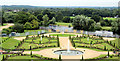 TQ1568 : Formal Garden, Hampton Court Palace, Surrey by Christine Matthews
