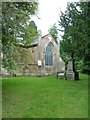 SU4018 : St Denys, Old Chilworth: churchyard (A) by Basher Eyre