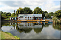 TL3706 : River Lee Navigation, Broxbourne, Hertfordshire by Christine Matthews