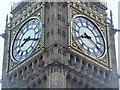 TQ3079 : London: twenty past eight at Big Ben by Chris Downer
