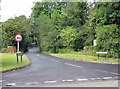 SP0074 : Cherry Hill Road, Barnt Green, as it Enters the Lickey & Blackwell Parish by Roy Hughes