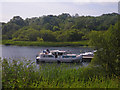 H3723 : Pleasure boats docking at the Crom Estate visitor centre by C Michael Hogan