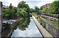 SP0685 : Birmingham and Worcester Canal near Five Ways by N Chadwick