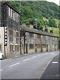 SE0023 : Cragg Vale - weavers cottages by Dave Bevis