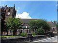 SJ8446 : Newcastle-under-Lyme: parish church of St. Giles by Chris Downer
