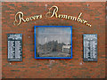 SD6725 : Rovers Remember... by David Dixon
