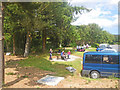 C0323 : Picnickers at the carpark rim, Glenveagh National Park by C Michael Hogan