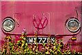 NN9116 : Disused campervan - detail by William Starkey