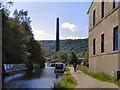 SD9827 : Rochdale Canal, Hebden Bridge by David Dixon