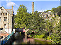 SD9927 : Hebden Water and St George's Bridge by David Dixon