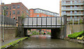 SJ8297 : Hulme Hall Road Bridge by Mike Todd