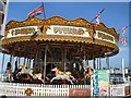 TQ3103 : Carousel on Brighton Pier by Paul Gillett